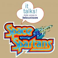 Space Spartans, an Intellivoice game for the Intellivision, a video game console by Mattel