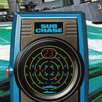 Sub Chase, a handheld electronic game by Mattel Electronics