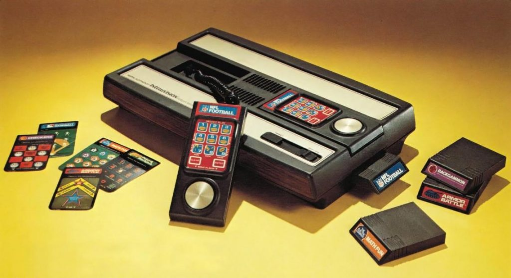 Intellivision, a video game console by Mattel
