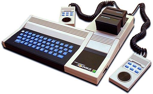 Aquarius home computer, by Mattel 1983