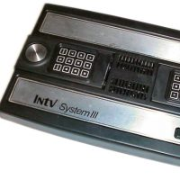 The INTV System III, a home video game system by INTV Corporation 1985