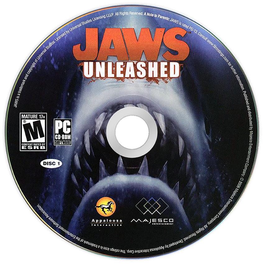 Jaws Unleashed, a video game for PC computers 2006