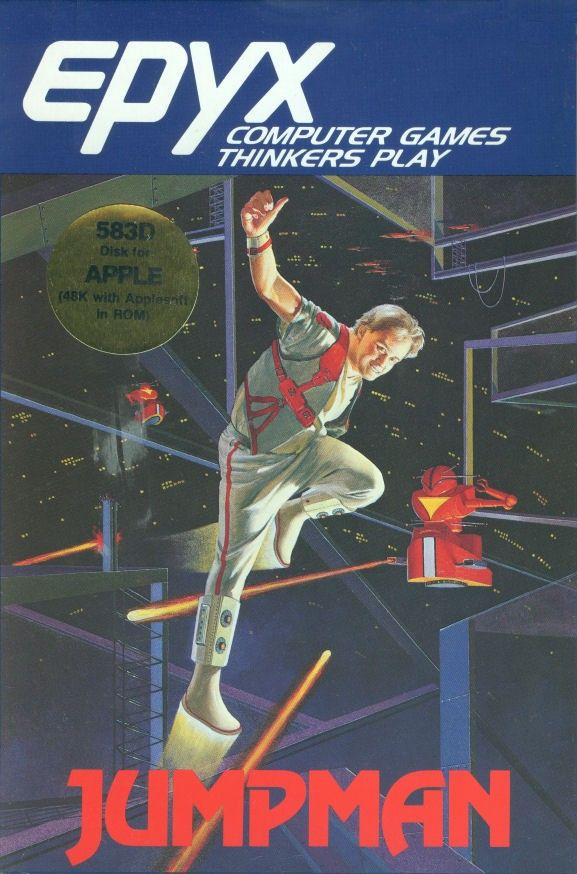Jumpman, a computer video game for the Apple II personal computer