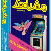 Lady Bug, a home video game for the Mattel Intellivision video game system