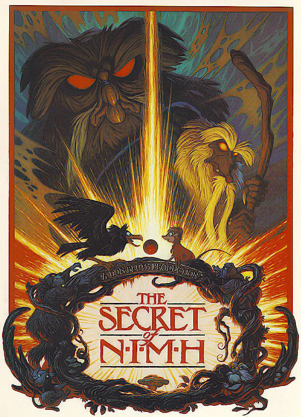 The Secret of NIMH, a film by Don Bluth 1982