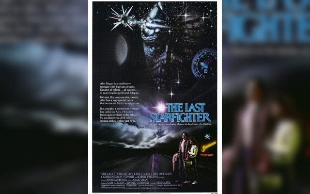 Poster for The Last Starfighter, a video game themed movie