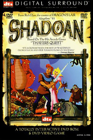 Box art for Kingdom II: Shadoan, a computer game by Virtual Image Productions 1998