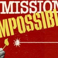 Titles for Mission: Impossible, a 1966 TV series starring Leonard Nimoy aka Mr. Spock from Star Trek