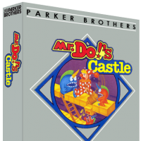 Mr. Do's Castle, a video game for the Atari 2600 video game system