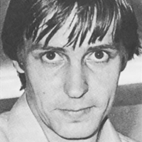 Photo of Richard Bartle, developer of the MUD online game at the University of Essex, 1984