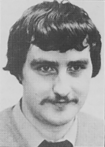 Photo of Roy Trubshaw, creator of the online adventure game MUD, 1985
