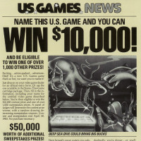Ad for Name This Game, a home video game by U.S. Games 1983