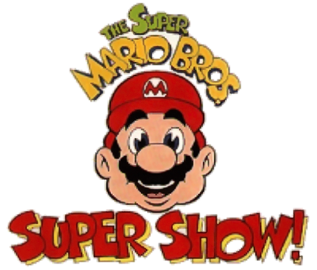 Titles for The Super Mario Bros. Super Show, a video game themed TV show 1989 - 1994