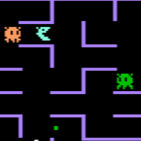Screenshot of K.C. Munchkin, a video game by Magnavox 1981