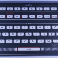 Keyboard of the O2, a home video game console by Magnavox 1978