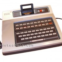 The Odyssey 2 and joysticks, a home video game console by Magnavox 1978