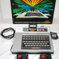 Image of the Odyssey², a home video game system by Magnavox 1978