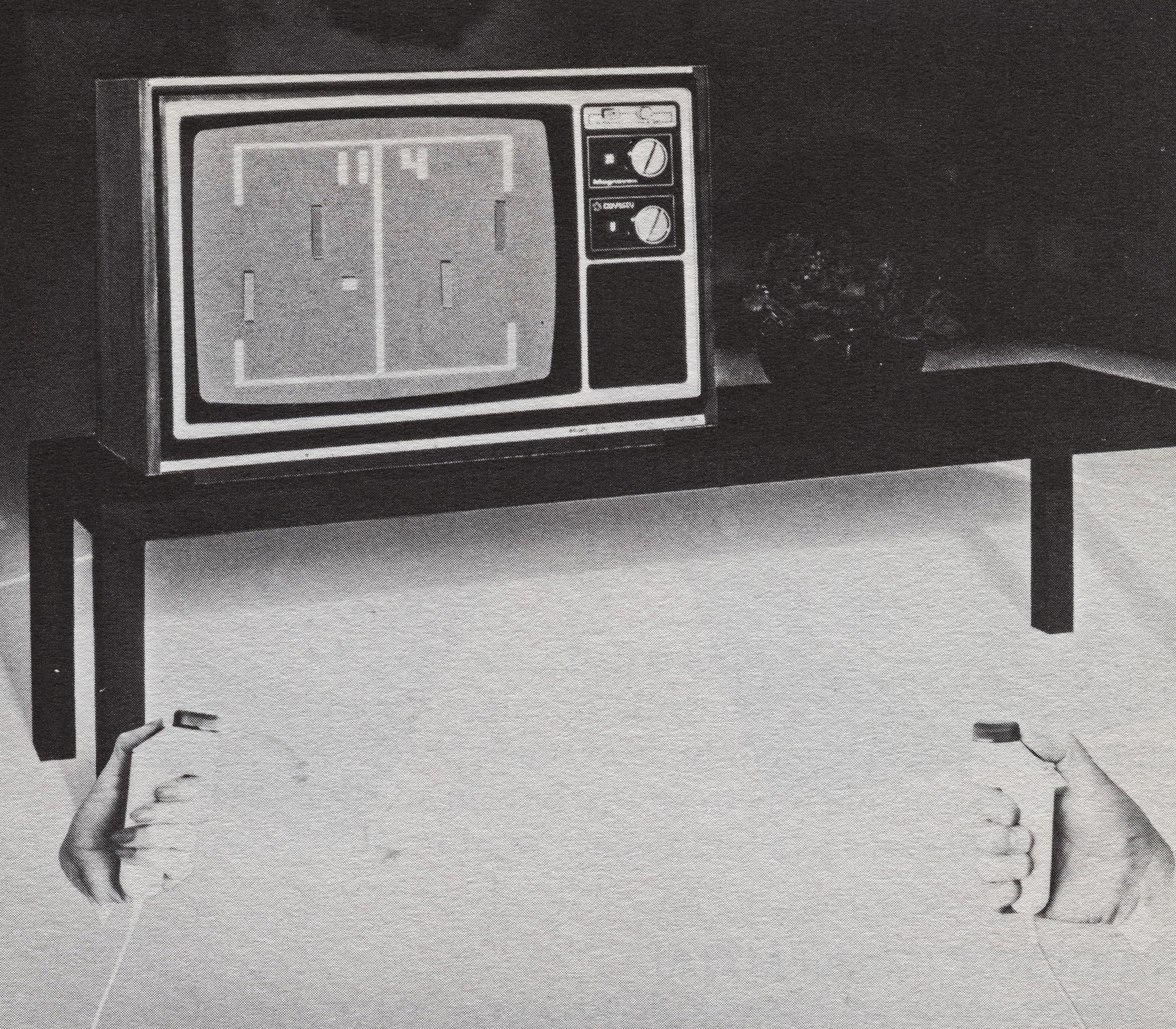 Magnavox 4305, a TV/home video game hybrid