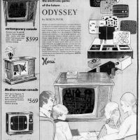 Odyssey, the first home video game