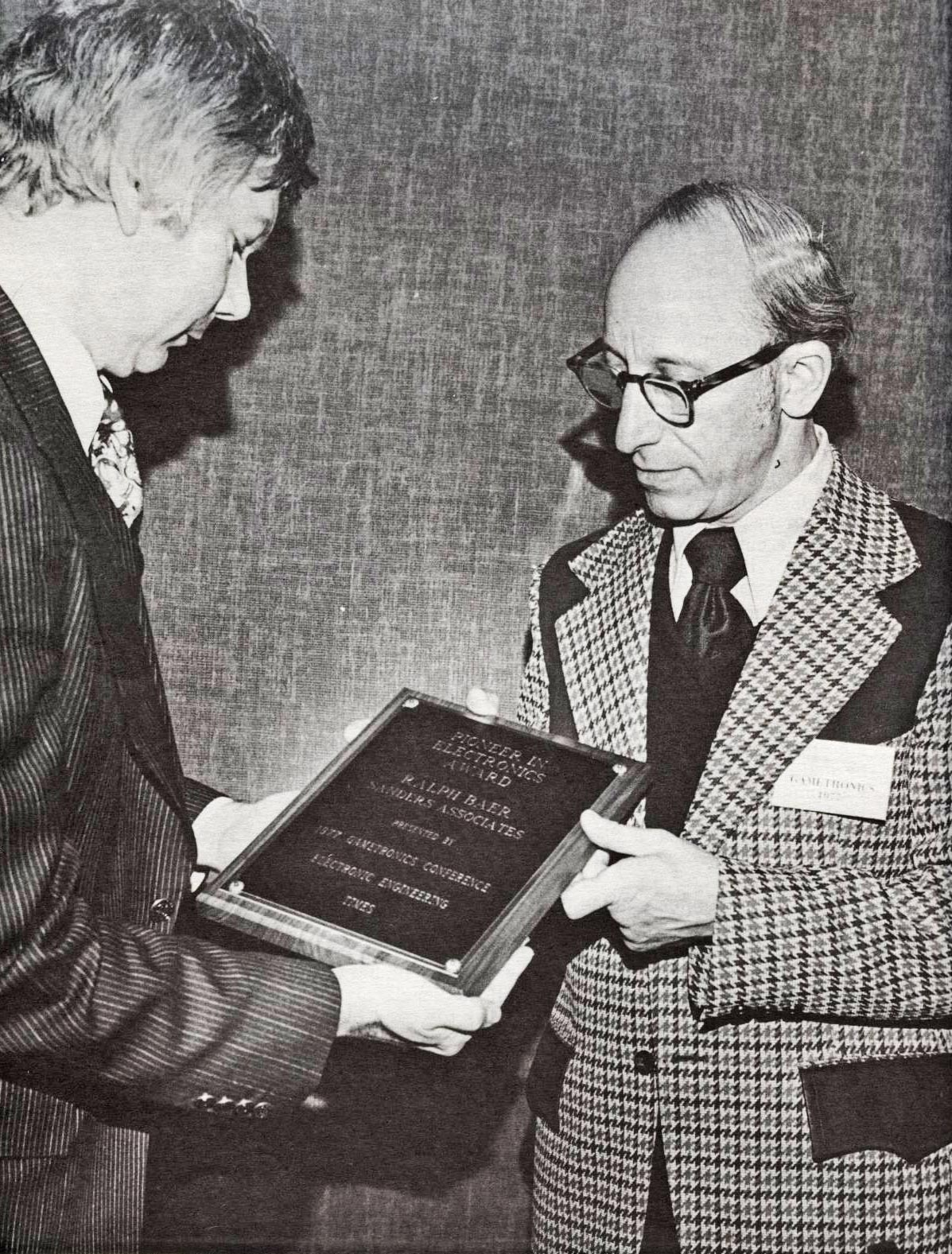 Ralph Baer, inventor of the first home video game Odyssey, released by Magnavox