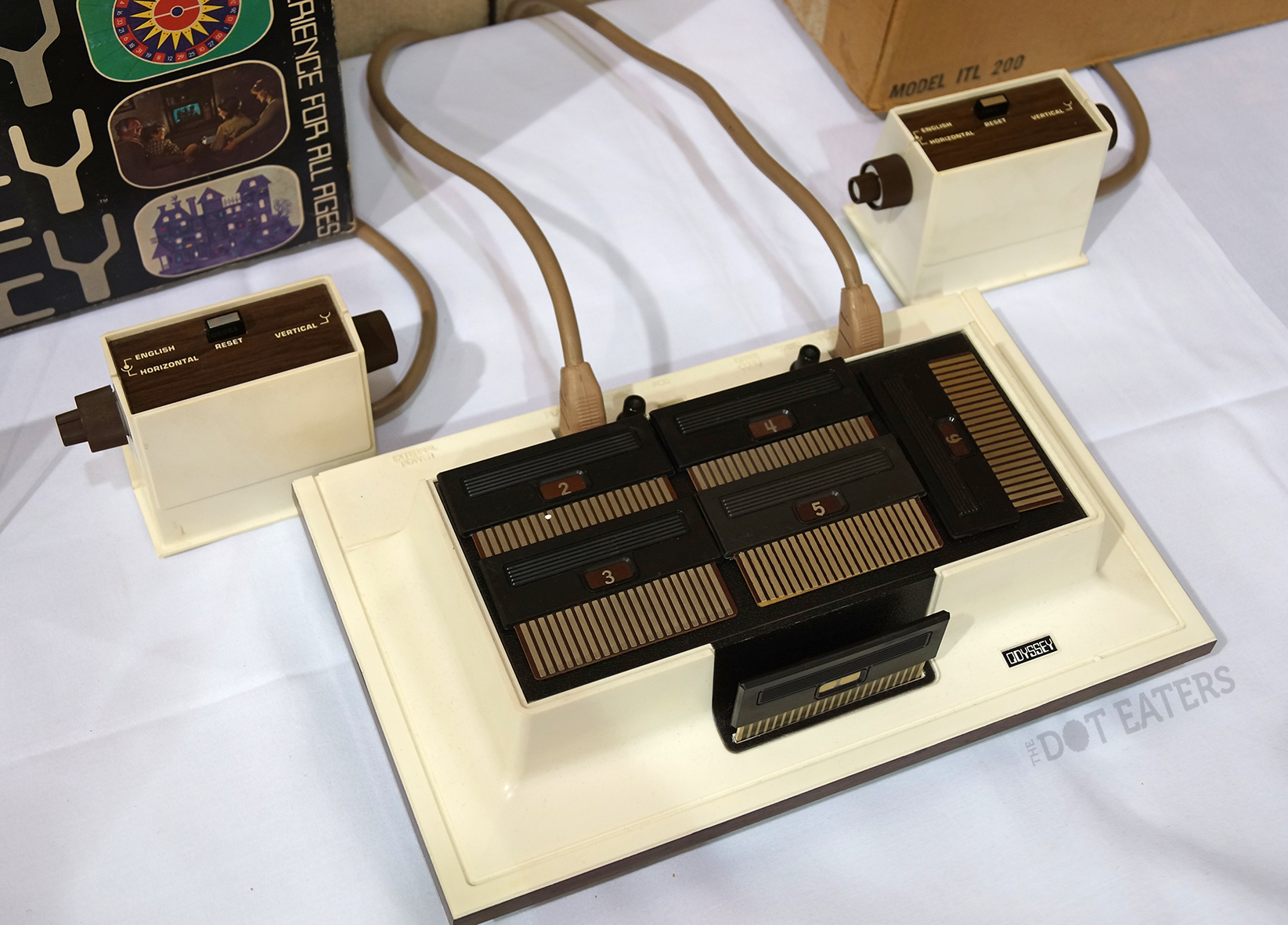 The Odyssey, a home video game system by Magnavox 1972