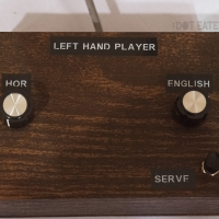 Controller for the Brown Box prototype, which would eventually become the Odyssey, a home video game system by Magnavox 1972