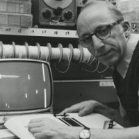 Photo of Baer plays the Odyssey 100, circa 1977