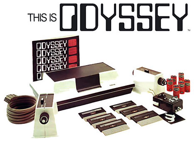 The Odyssey set, a home video game by Magnavox 1972