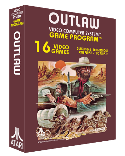 Outlaw, a video game for the Atari 2600 video game system