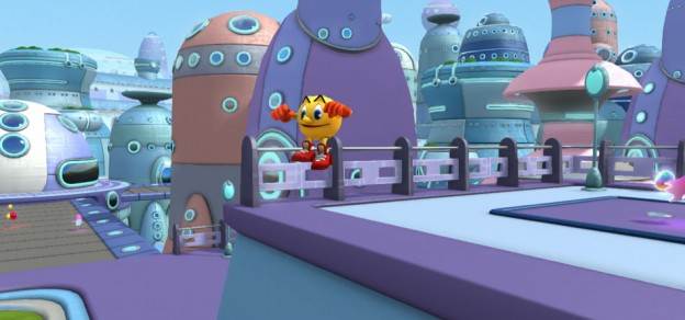 Screen shot from Pac-Man and the Ghostly Adventures, a home video game by Bandai Namco 2013