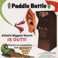Paddle Battle, an arcade video game