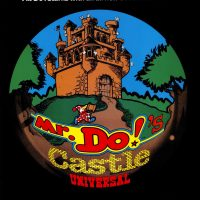 Sales flyer for Mr. Do!'s Castle, an arcade game by Universal
