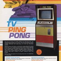 TV Ping Pong, an arcade video game