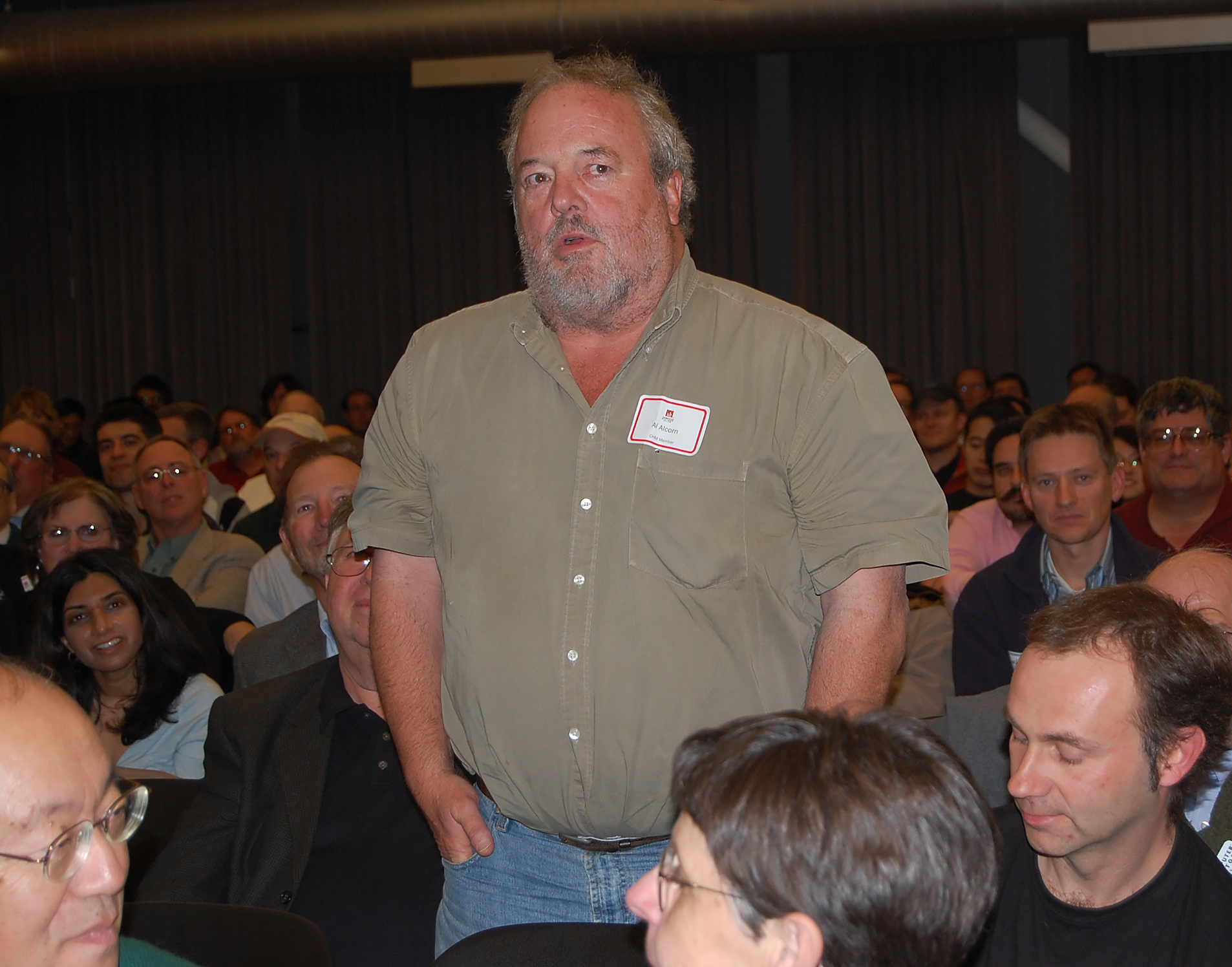 Al Alcorn, designer of first mass-produced arcade video game PONG, 2007