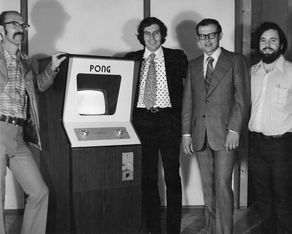 Creators of PONG, an arcade video game by Atari