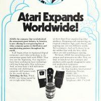 Atari, a video game manufacturer
