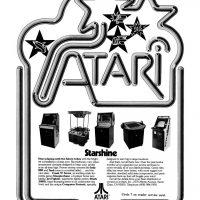 Ad for Atari arcade games