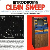 Clean Sweep, a pong-like arcade video game by Ramtek