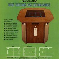 an ad for an Atari PONG clone