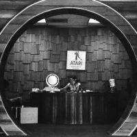 Entrance to Los Gatos plant of Atari