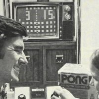 Pong, a home video game console by Atari