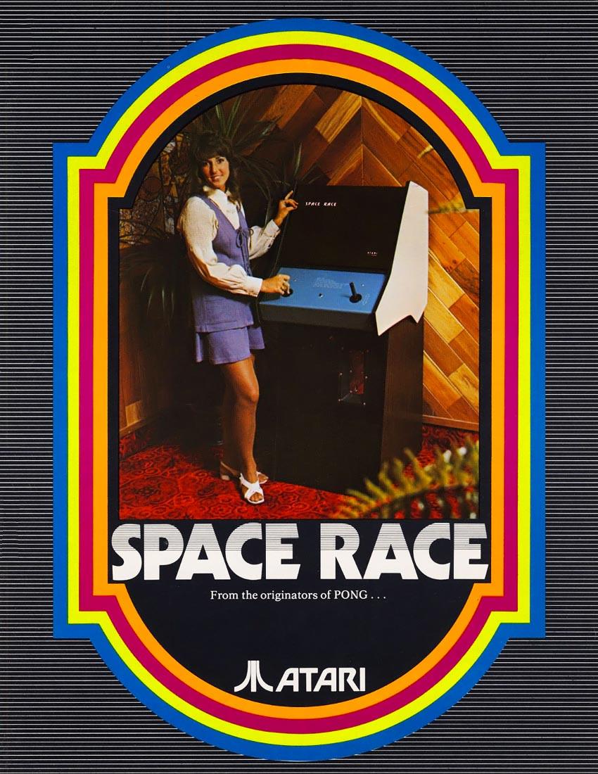 Space Race, an arcade video game by Atari