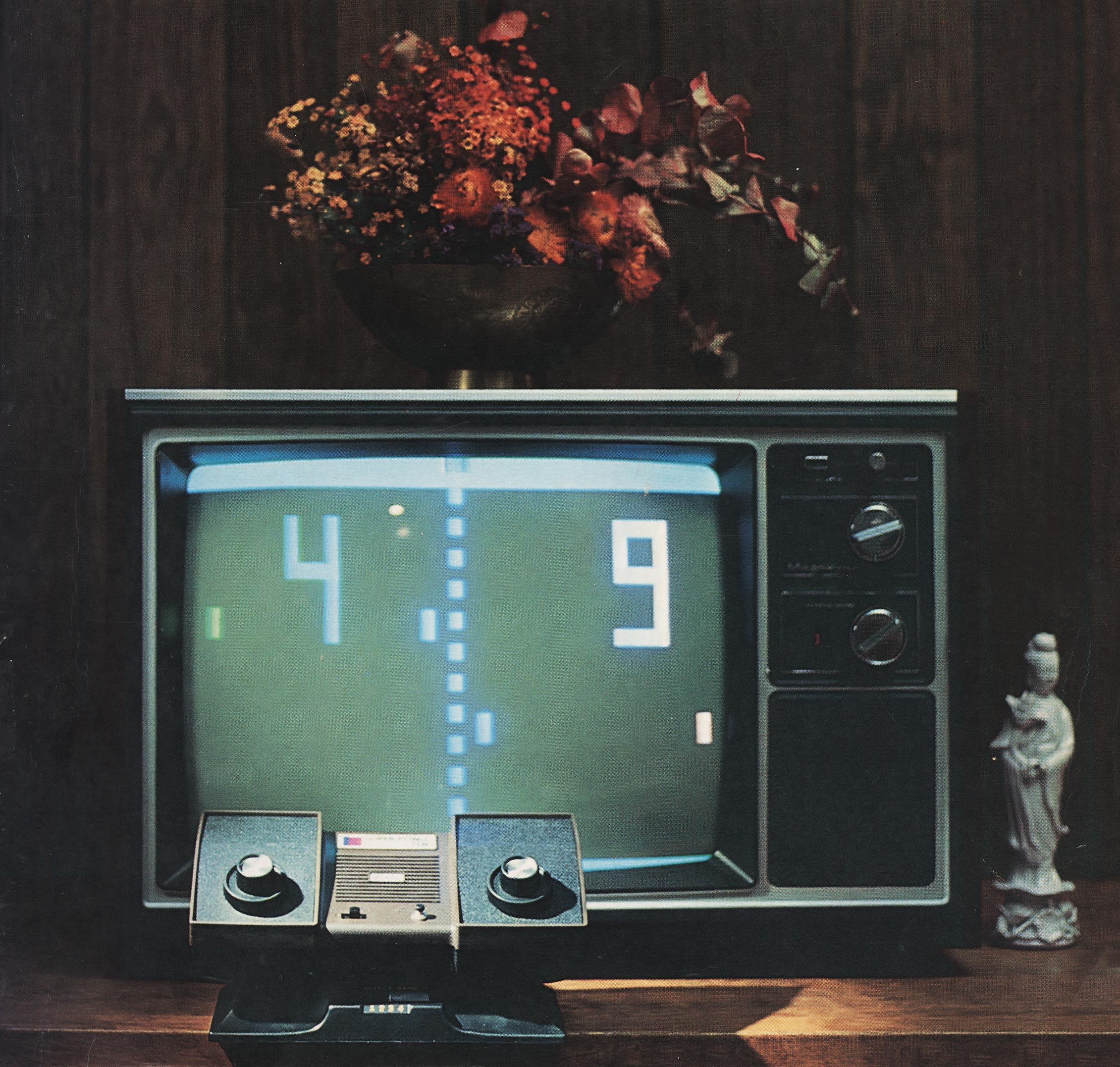Super PONG, a home video game console by Atari