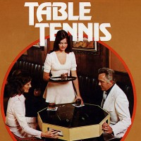 Sales flyer for Table Tennis, a coin-op video game by Nutting Associates, 1973.