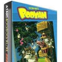 Pooyan, a home video game for the Atari 8-bit computers