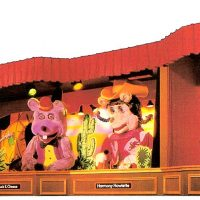 Early animatronic character for Chuck E. Cheese Pizza Time Theatre