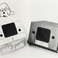 PONG video arcade games Puppy PONG and Dr. PONG