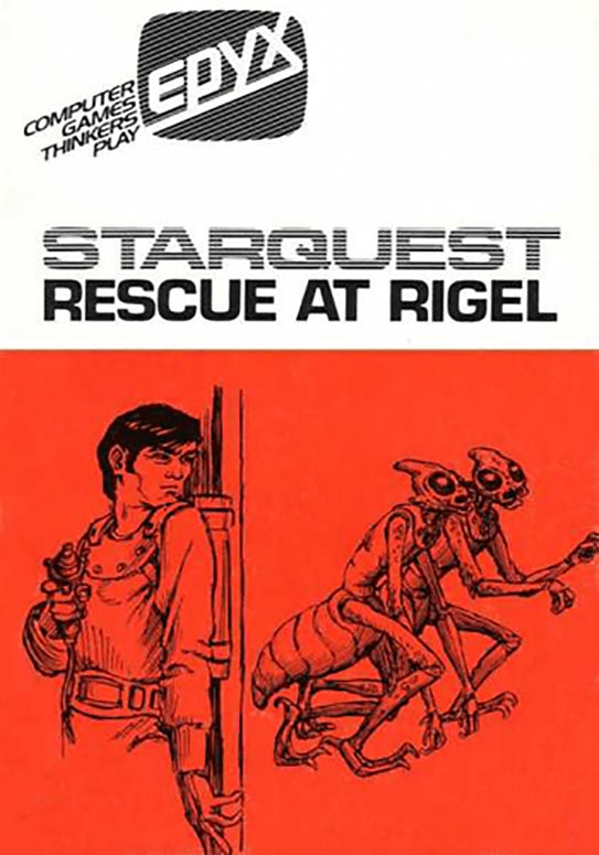 Starquest: Rescue at Rigel, a computer game for the Apple II home computer