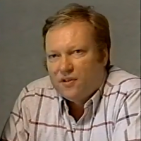 Image of Rick Maurer, designer of Space Invaders, a video game for the Atari VCS/2600 1980
