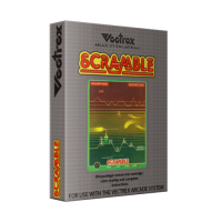 Scramble, a home video game for the Vectrex video game system